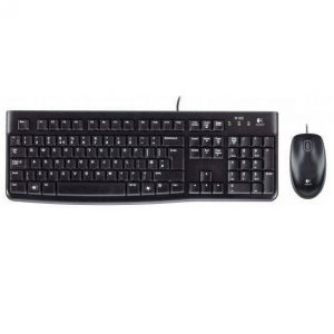 סט מקלדת ועכבר Logitech Desktop Set MK120